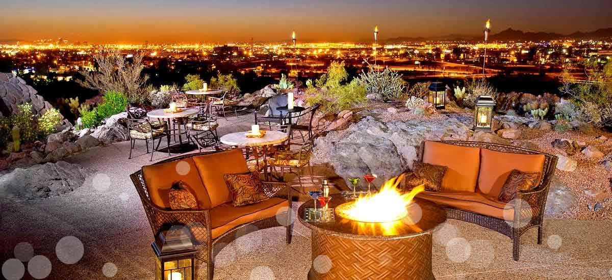 Top Of The Rock Restaurant Tempe Hotel Restaurants At