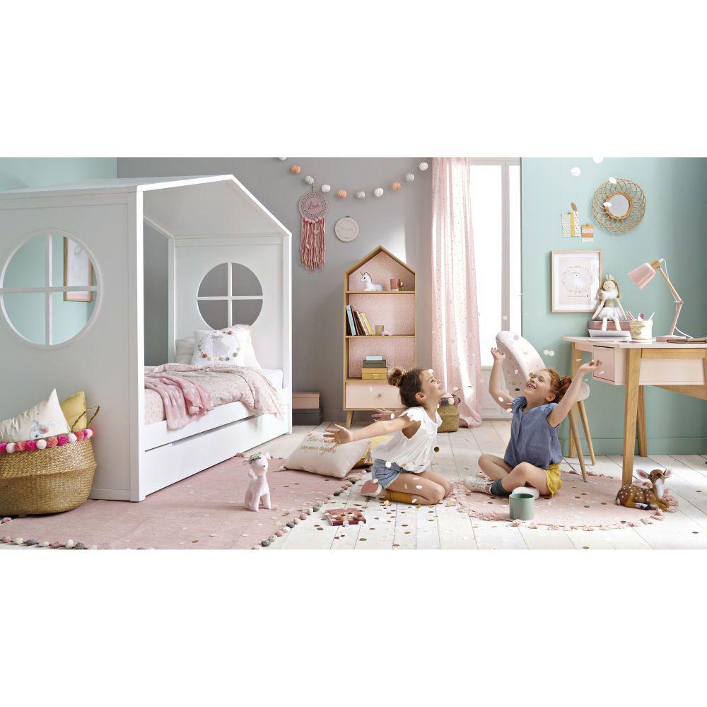 Diy Lit Cabane 90X190 lit cabane enfant 90x190 blanc | girls furniture, diy