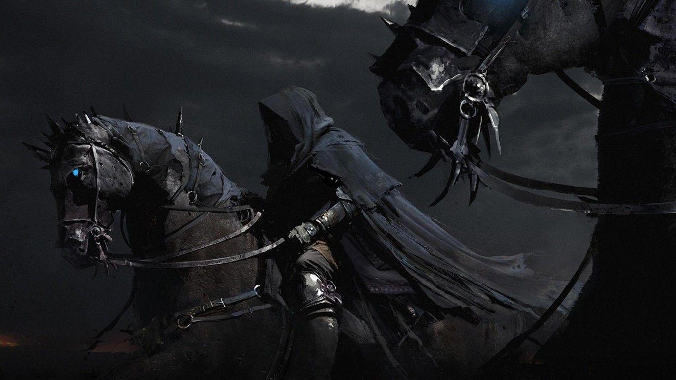Wallpaper iphone gelap - Kuda Evil Gelap Grim Reaper