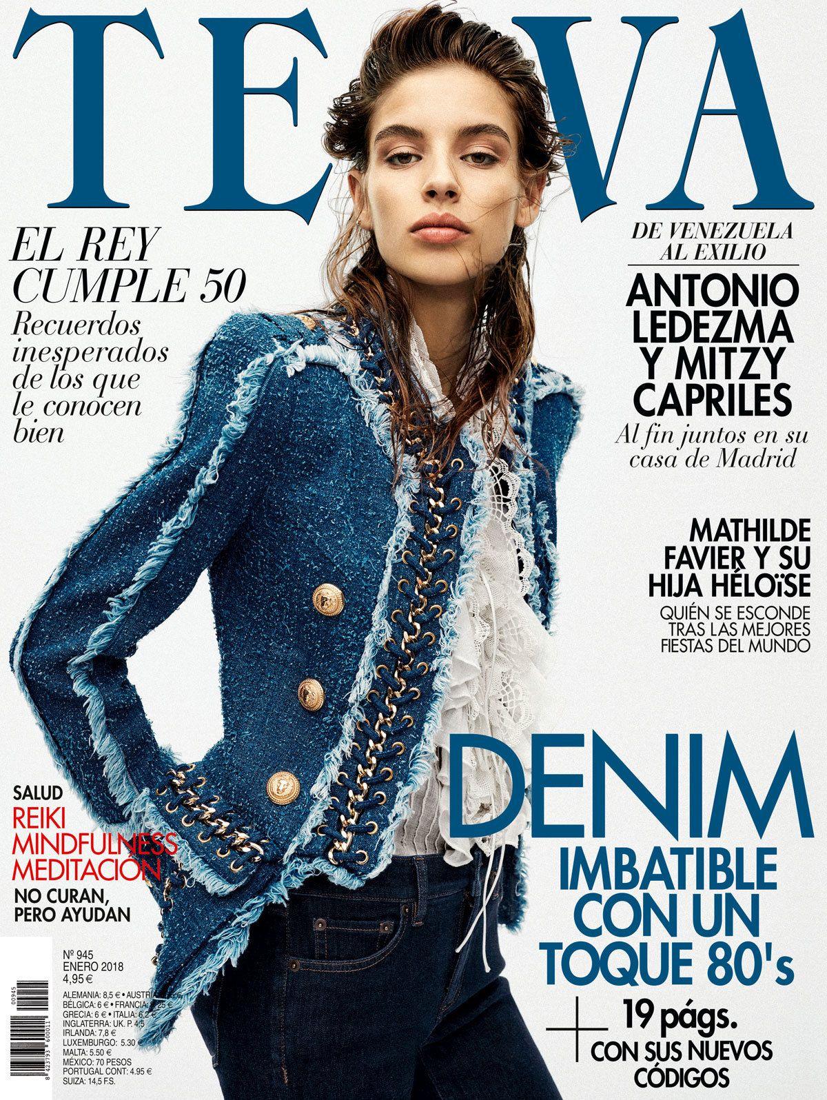 01aae3304b TELVA. Revista de moda y belleza orientada al público femenino. Mensual.