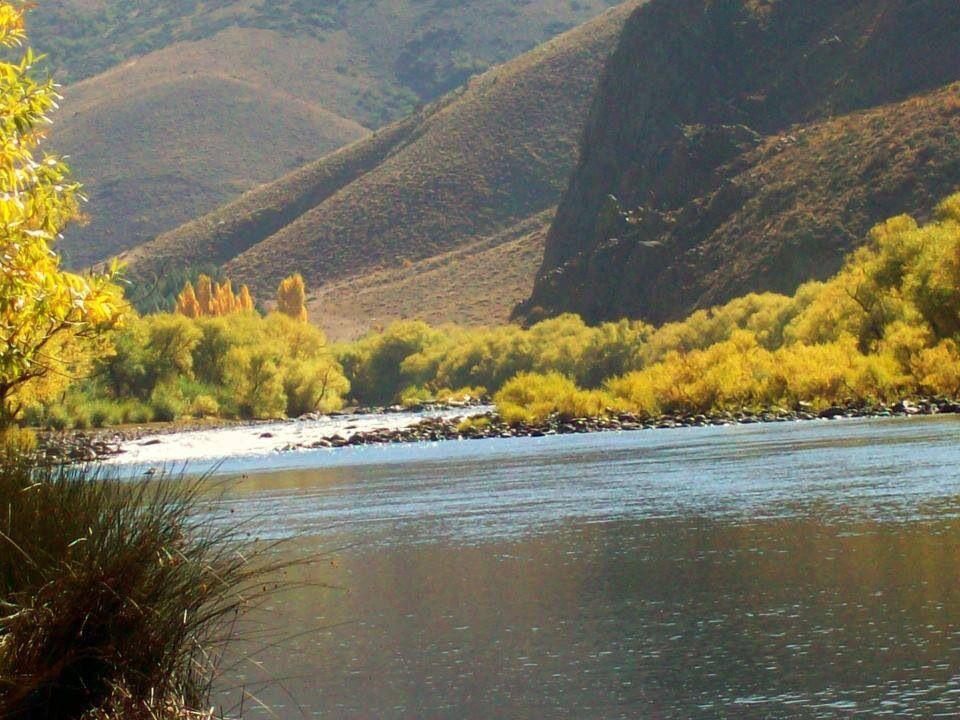 Río Limay, San Carlos de Bariloche, Argentina