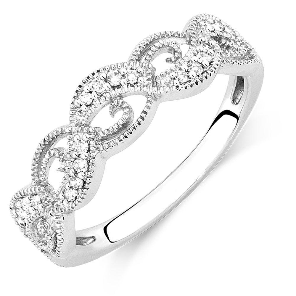 10 Carat Tw Diamond Swirl Ring