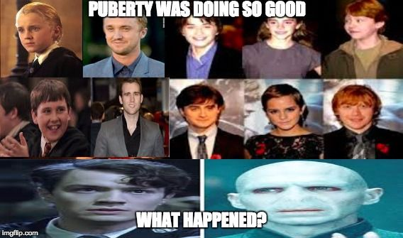 Why Did Puberty Do This To The Best Harry Potter Character Harry Potter Characters Harry Potter Love Harry Potter Memes