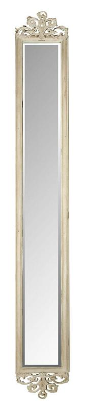 Narrow Wall Mirror cream ornate narrow wall mirror - bathroom | pinterest - crème