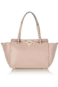 777f11197d28f Valentino The Rockstud small leather trapeze bag | NET-A-PORTER ...