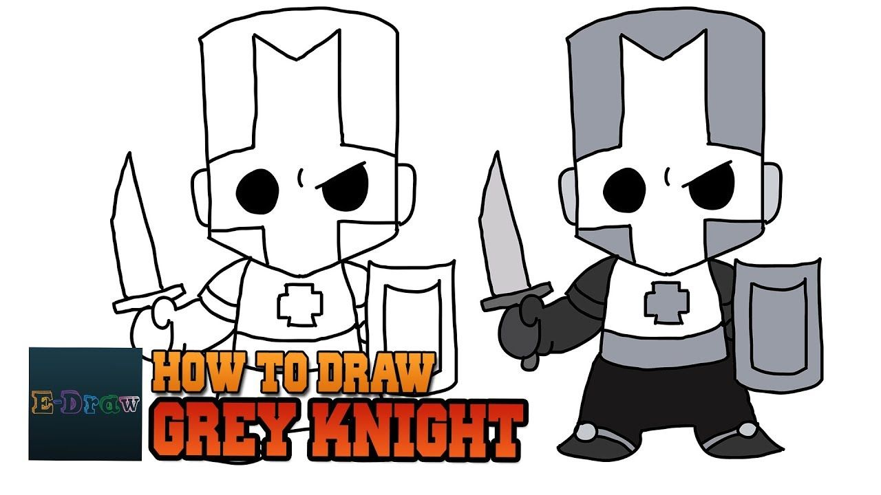 castle crashers gray knight