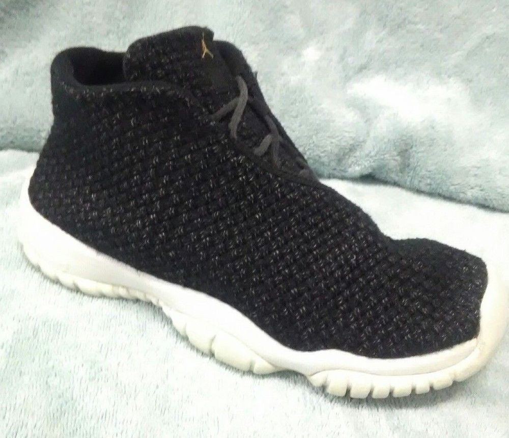 22b9175b05 ... low price nike 656504 021 air jordan future bg shoes size 6.5y black  wrap high
