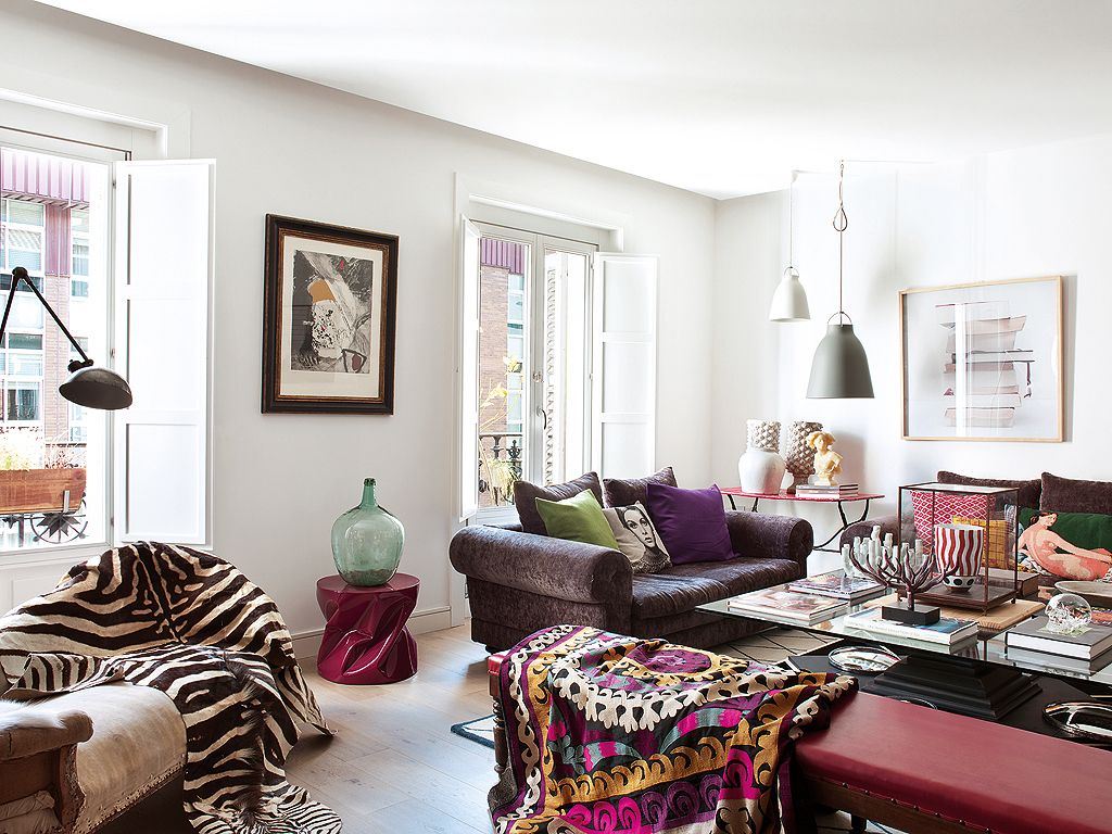 Style and vibrant tones in Madrid, by Marengo