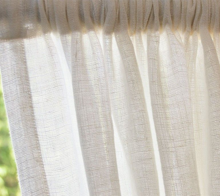Open Weave Curtains Tutorial Curtain Tutorial Sewing Projects Fabric Store