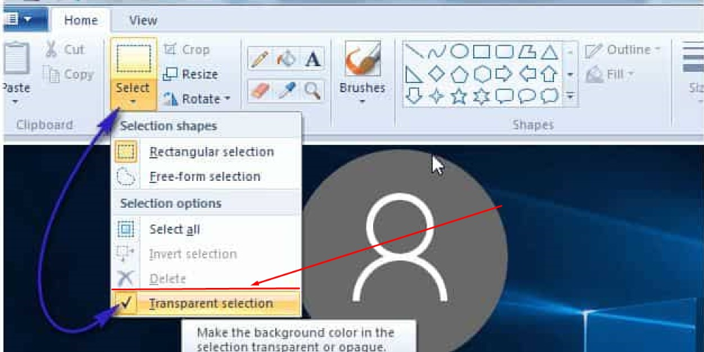 How To Make A Background Transparent Using Ms Paint 2020 Secured You Background Transparent Colorful Backgrounds