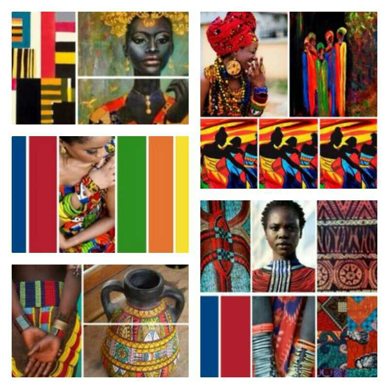 color palette - Africa colors   Color Ideas in 2019 ...