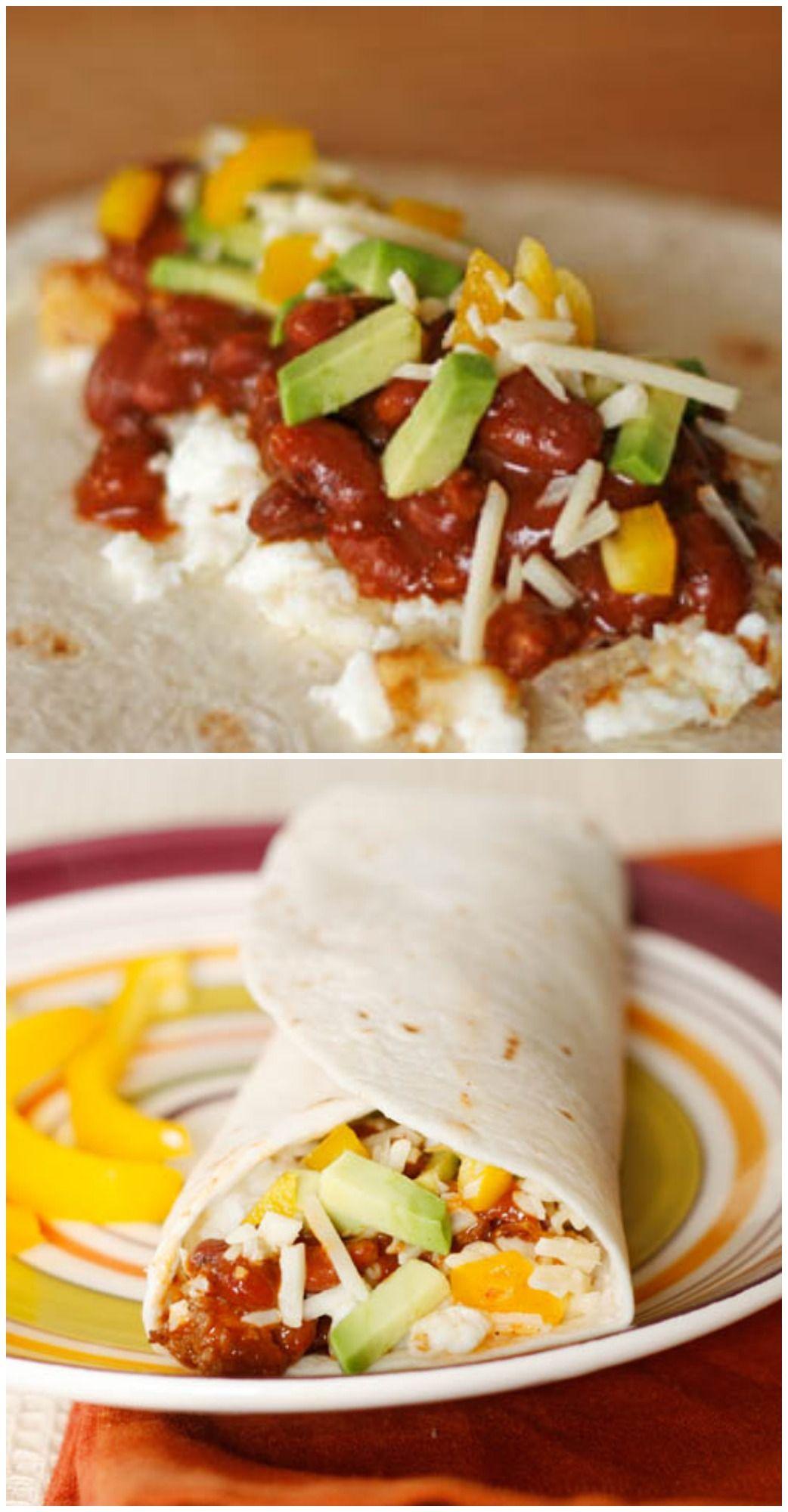 Tex Mex Egg White Breakfast Wrap Recipe Breakfast