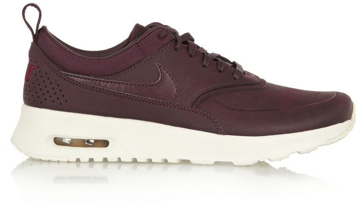 Nike Thea Premium Leather Sneakers - ShopStyle Women