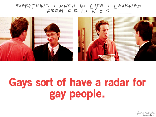 Everything I Know In Life I Learned From Friends