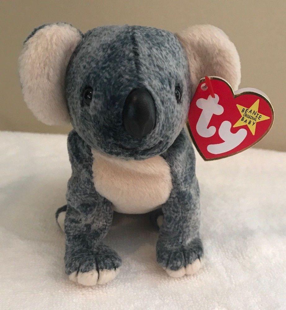 EUCALYPTUS the Koala - MWMTs Stuffed Animal Toy TY Beanie Baby 5 inch