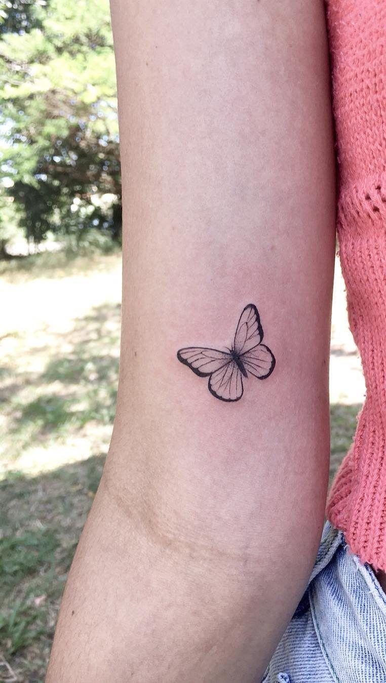Girly Butterfly Tattoo : girly, butterfly, tattoo, Beautiful, Butterfly, Tattoo, Designs, Charm, Tattoos, Girls,, Women,, Wrist, Women