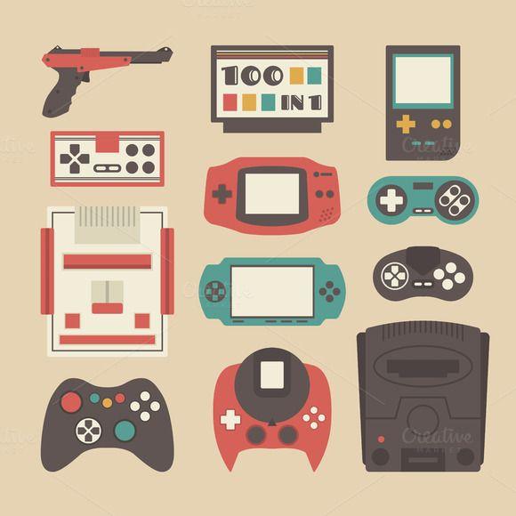 Arcade Retro Logo Video Games Gamer Mens Tank Top