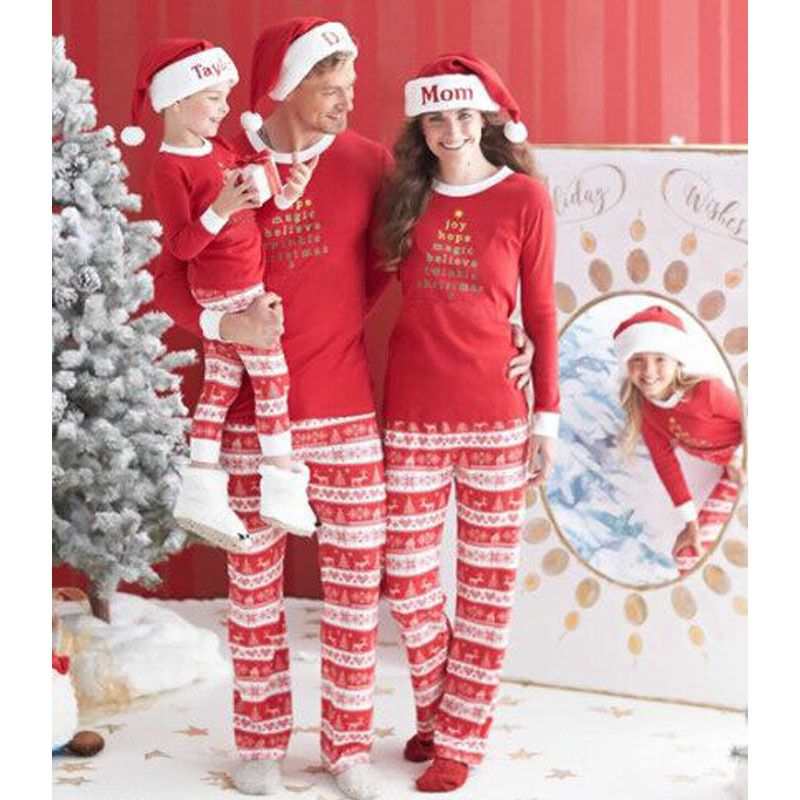 54d5902c84 Family Christmas Pajamas Family Matching Clothes Matching Mother Daughter  Clothes Father Son Mon New Year Family Look Sets #>=#>=#>=#>=#> Click on  the pin ...