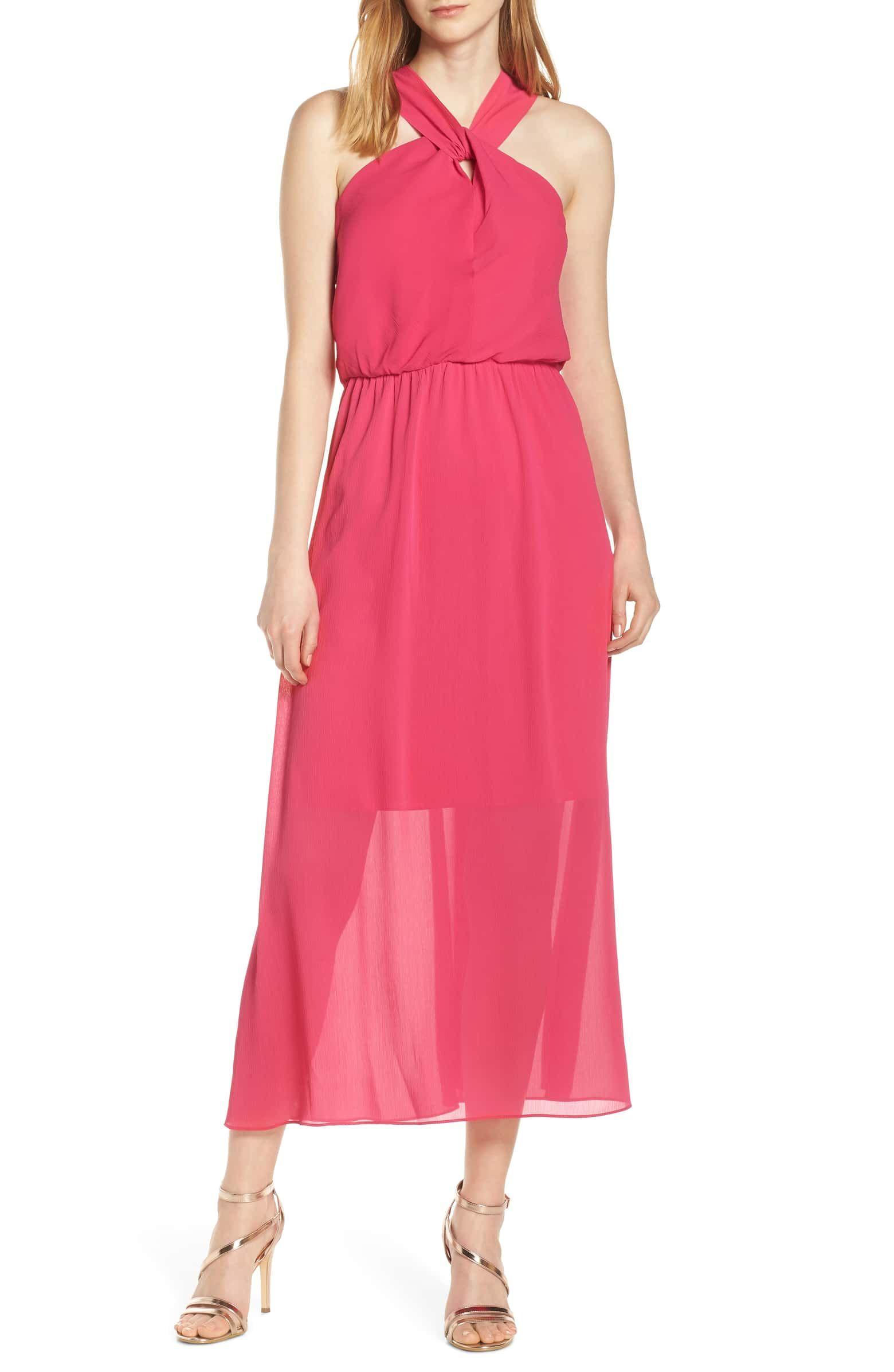Criss Cross Halter Neck Maxi Dress Fashion Clothes Women Maxi Dress Maxi Dress Online