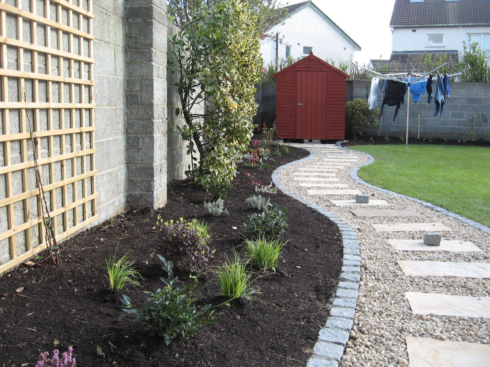 cool low maintenance landscaping ideas for front of house and low