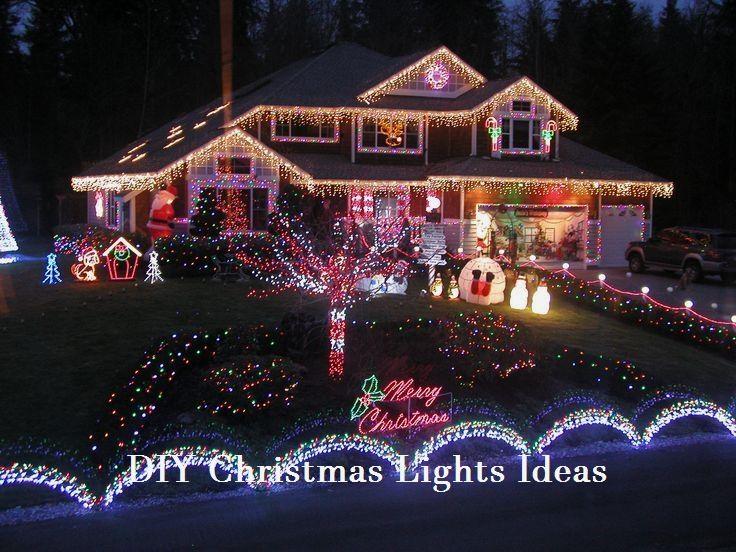Unique Outside DIY Christmas Lights on a budget #christmaslights #2019 - Unique Outside Christmas Lights 1 DIY & Craft Ideas Pinterest