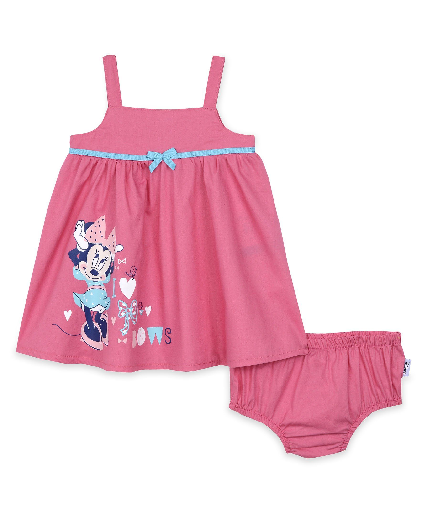 f952055df6148 Disney Baby Girls Minnie Mouse Dress and Panty Set Camellia Rose 6 9      Need to know much more