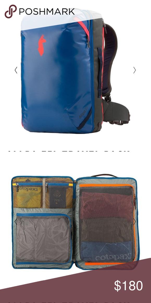 4d1a777980 Legendary Cotopaxi Allpa 35L unisex bag EUC   New ones currently  backordered til Nov 2018