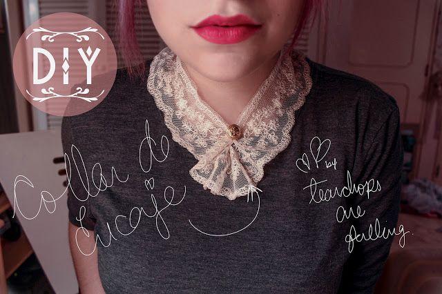 #necklace #encaje #vintage