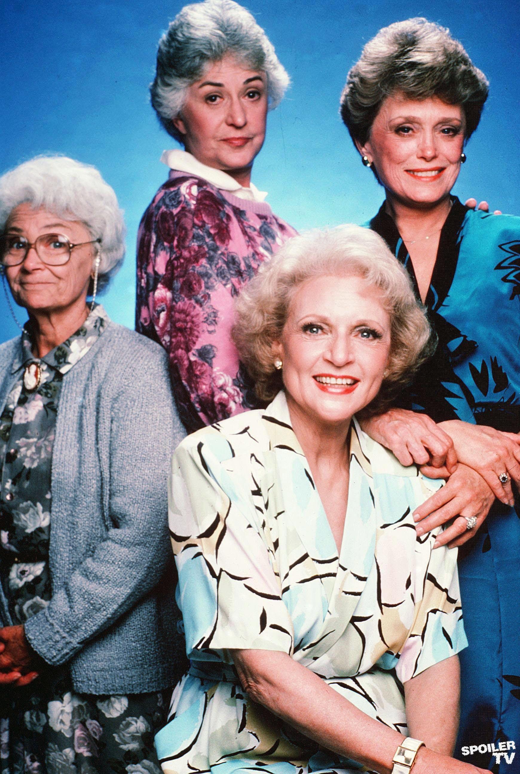 The Golden Girls   Golden girls, Girl pictures, Betty white