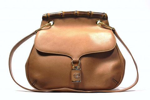 9cae7a6f6d7 Vintage 70 s GUCCI Equestrian Handbag w Bamboo at Rice and Beans Vintage -  at Rice and Beans Vintage