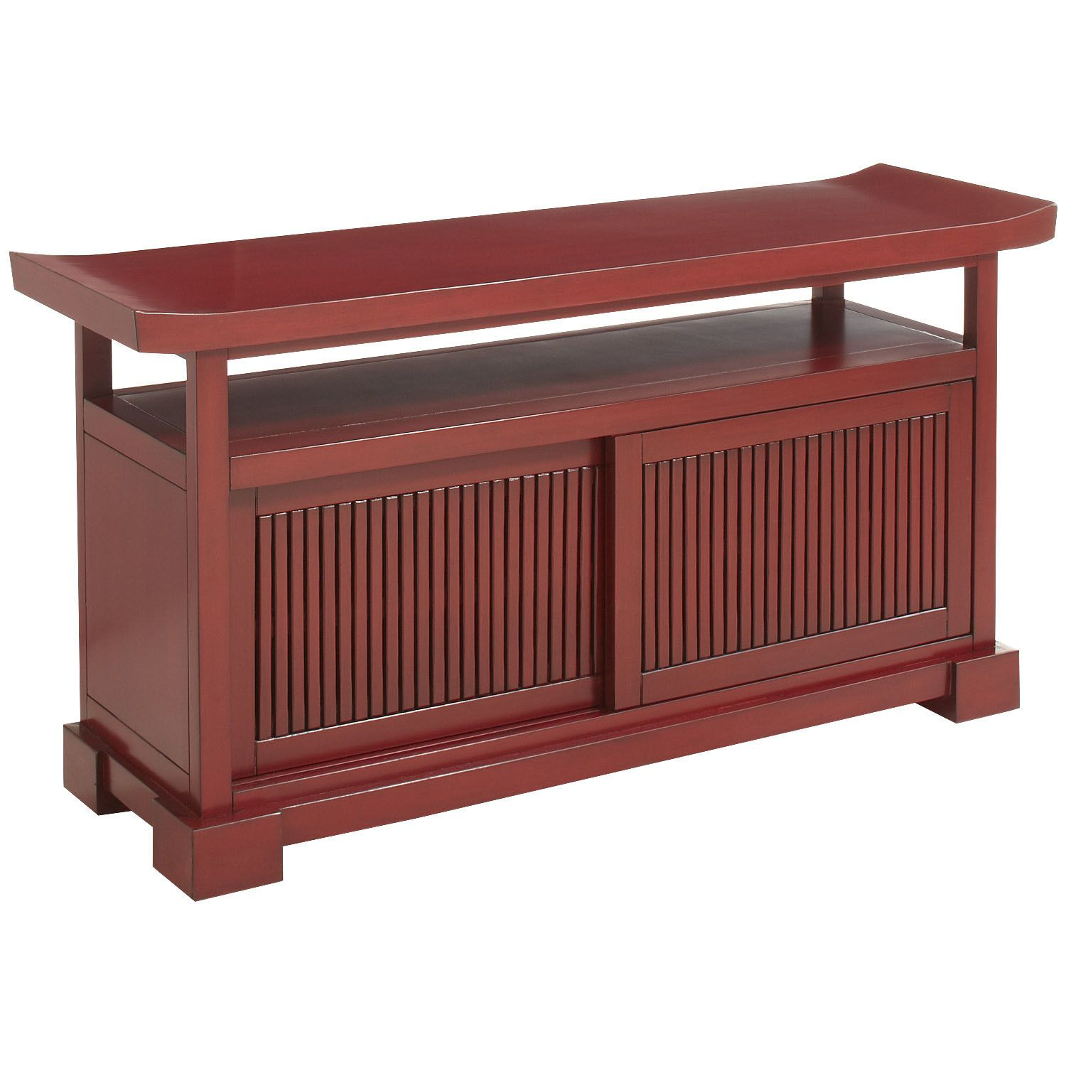 Fung Tv Stand Antique Red Media Stand Asian Decor Living Room