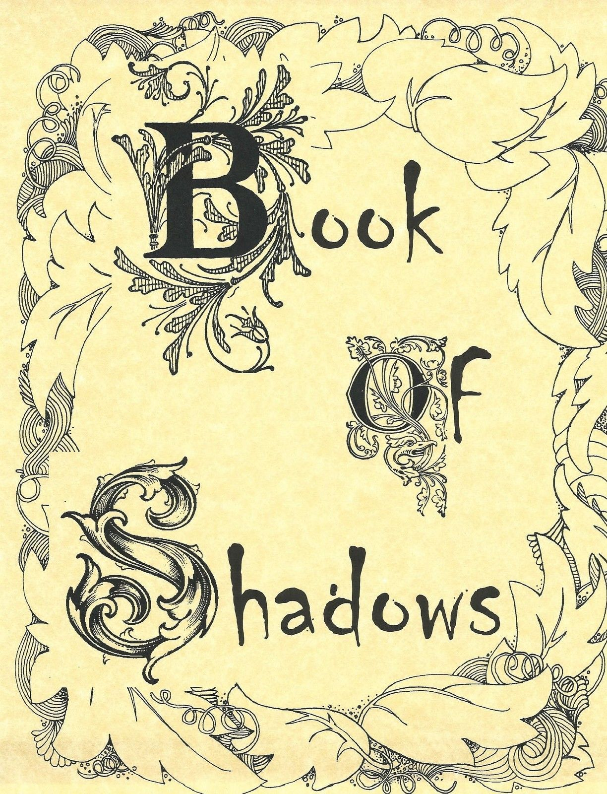 Book Of Shadows Cover Ideas : Book of shadows cover art pixshark images