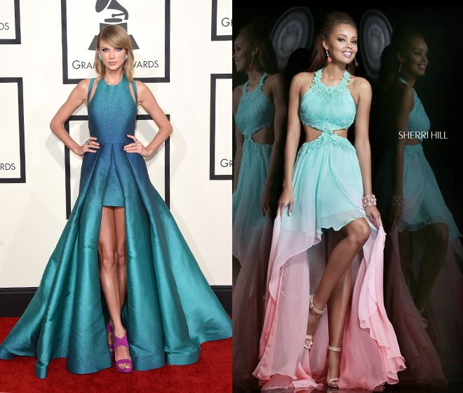 Taylor Swift Inspired Prom Dresses