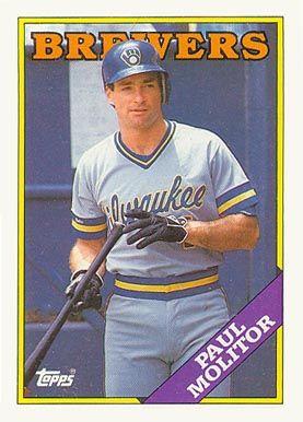 1988 Topps Paul Molitor 465 Baseball Card Value Price Guide Baseball Cards Baseball Card Values Baseball