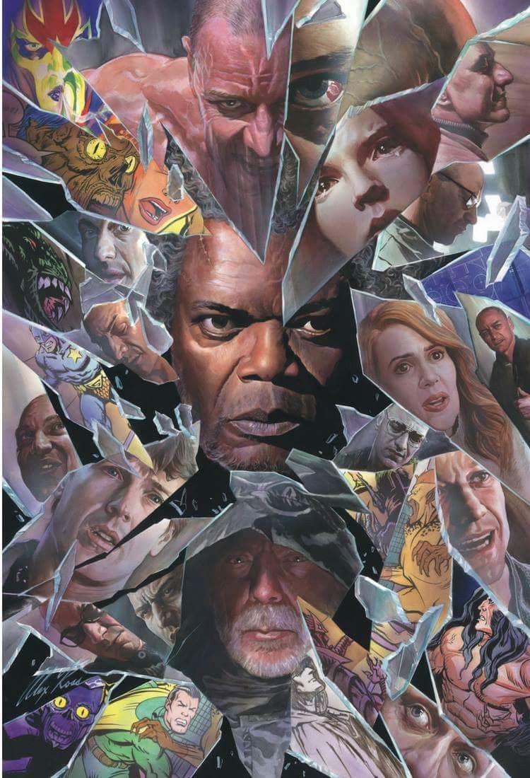Glass movie poster by Alex Ross Glass, 2019 Movie