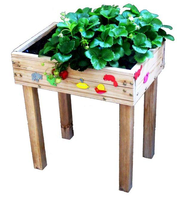 potager sur pieds pour enfant jardins pinterest. Black Bedroom Furniture Sets. Home Design Ideas