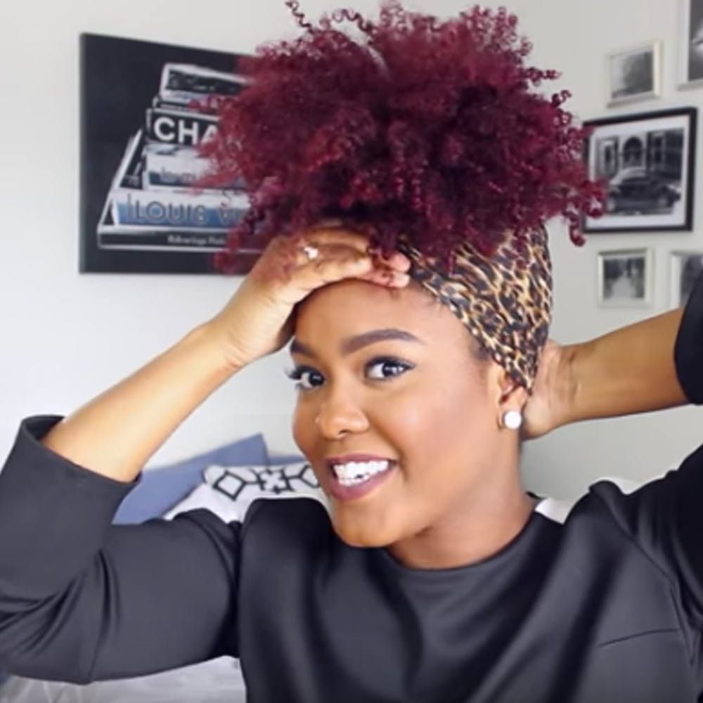 ways to sleep with natural hair without ruining your curls