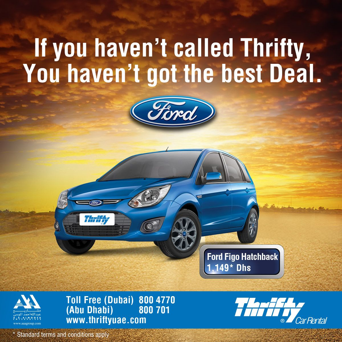 Introducing The Fantastic4 Now At Thriftyuae Ford