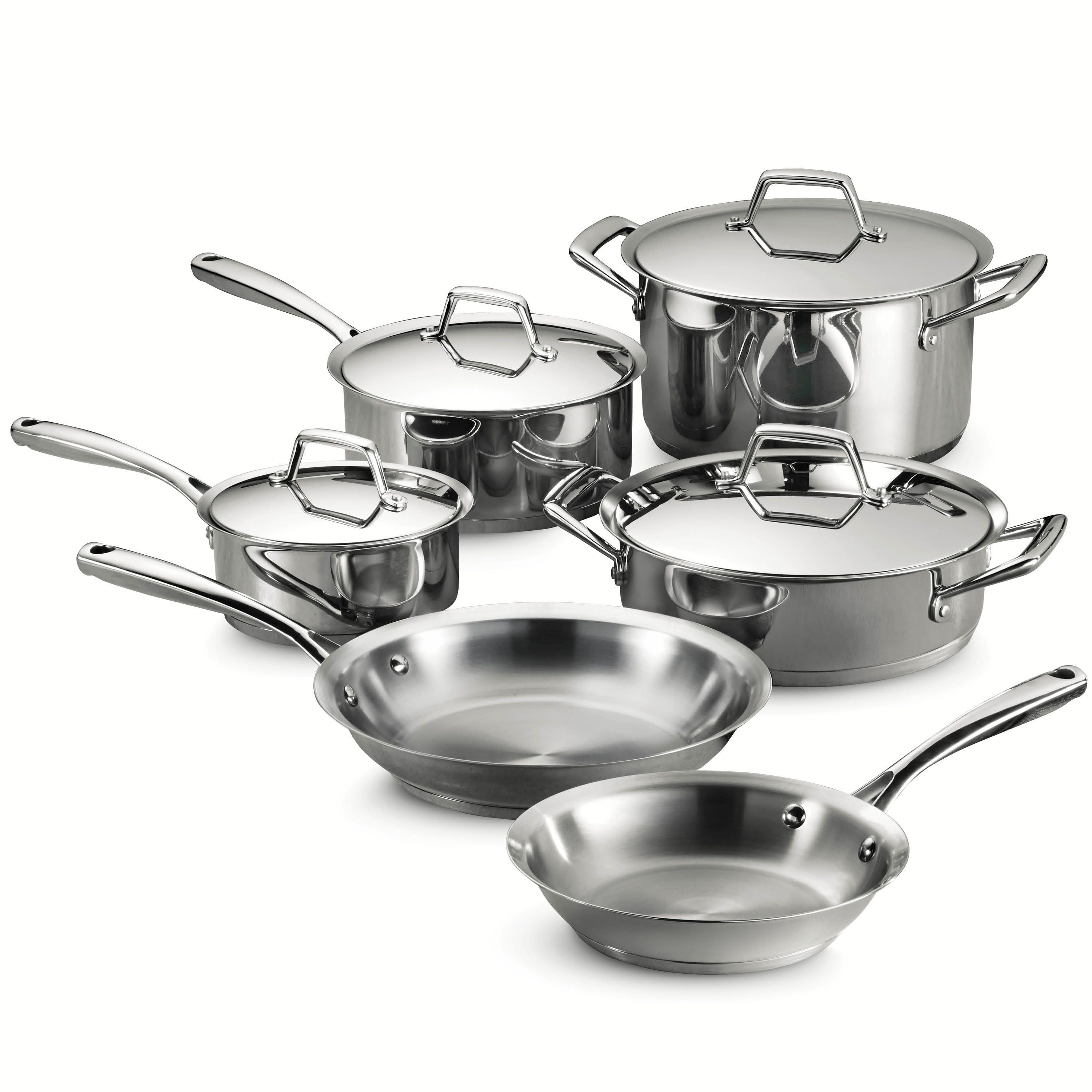 Tramontina Gourmet Prima 18/10 Stainless Steel Tri-Ply Base ...