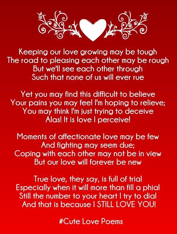 rhyming poems for girlfriend