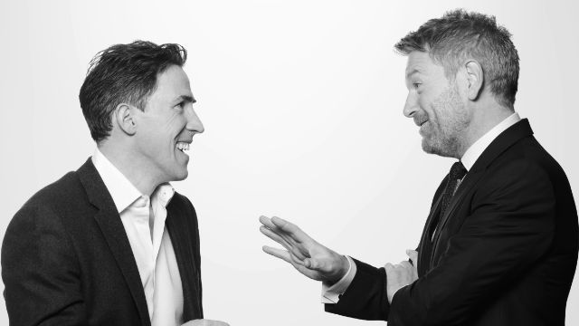 Rob Brydon and Kenneth Branagh. Kenneth Branagh Theatre Company. Photo by Johan Persson