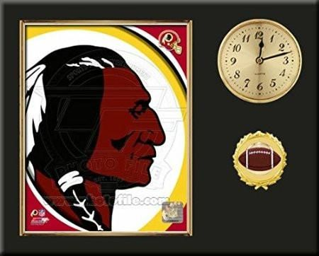 Washington Redskins Team Logo Photo Inserted In A Gold Slide In ...
