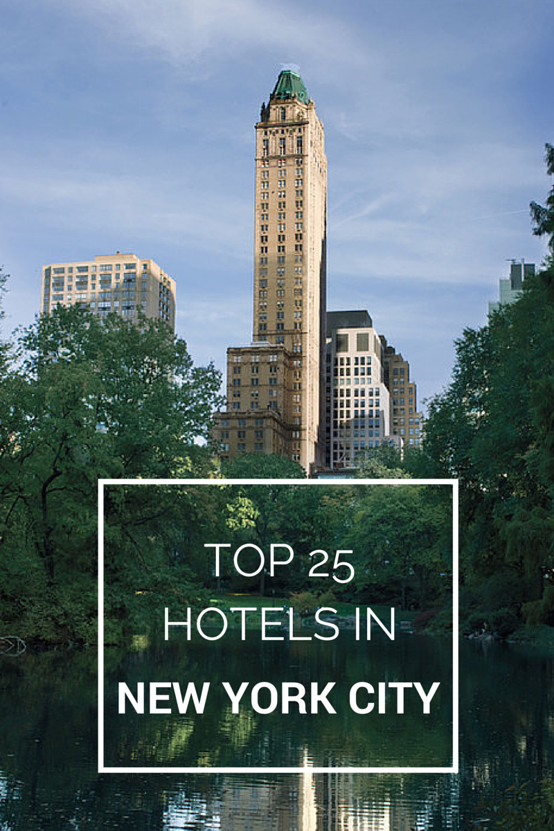 2019 Readers' Choice Awards: The Top Hotels In New York
