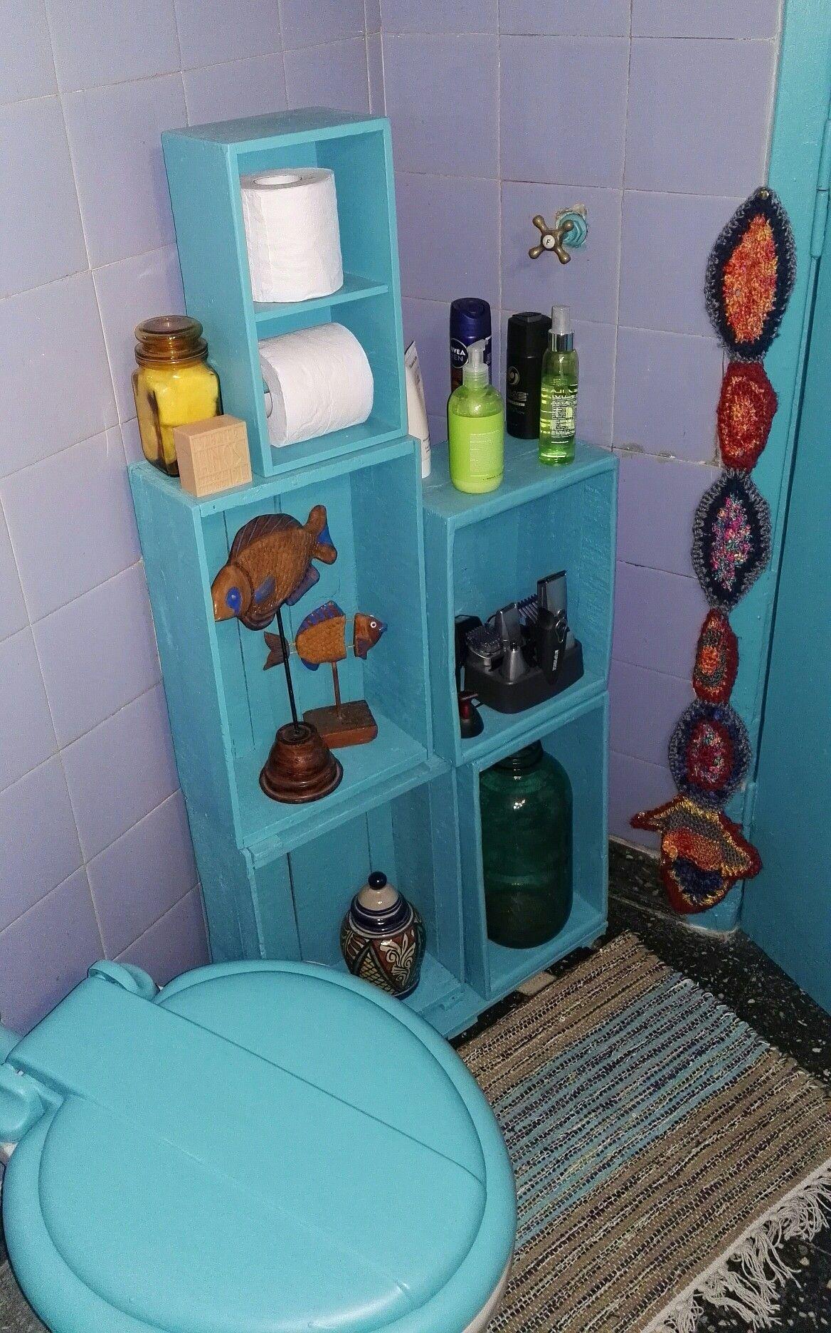 Cajones Reciclados Mueble Para Ba O Con Rueditas Giratorias Por  # Muebles Reiclados