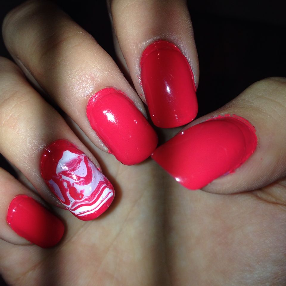 Water dip nails are so easy to do!!!