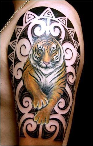 tiger tattoos for women | View Tattoo: Tiger Tattoo Design @ Tattoo Images Online.com