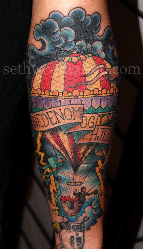 As tattoos de Seth Wood