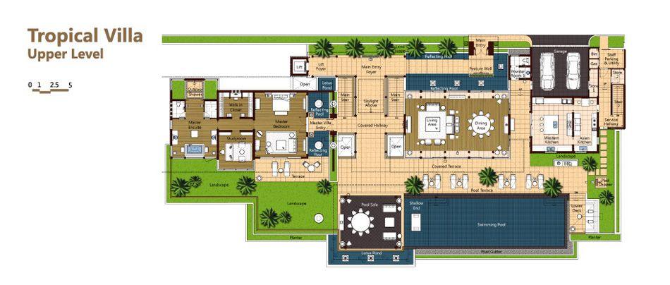 Phuket Luxury Villa Layout Plans And Descriptions Andara Signature Resort Villas