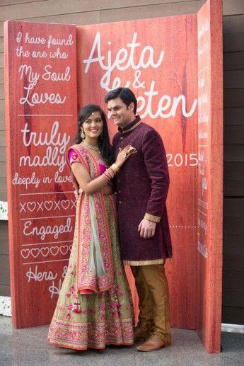 97e437b2ee 16-photobooth-backdrop-002 Wedding Card Sample, Wedding Cards, Wedding Bride