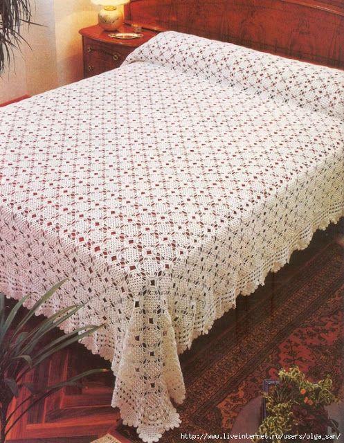 Pasatiempos entre hilos y puntadas: Mantas patrones en crochet ...